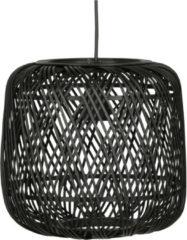 WOOOD Exclusive WOOOD Hanglamp 'Moza', kleur Zwart, Ø70cm