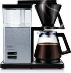 Zwarte Melitta Aroma Signature - Filter-koffiezetapparaat - Zilver