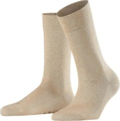 Zandkleurige FALKE Sensitive London 47686 - Beige 4659 sand mel. Dames - 35-38
