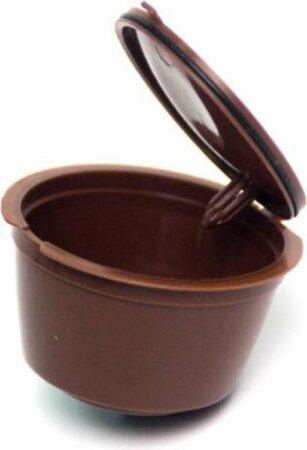 Afbeelding van Merkloos / Sans marque Herbruikbare / hervulbare Nespresso cup - Bruin