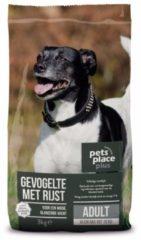 Pets Place Plus Hond Adult Mini - Hondenvoer - Kip Rijst 3 kg - Hondenvoer