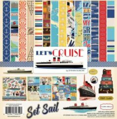 """Carta Bella: Let's Cruise Collection Kit 12x12"""" (CBLC65016)"""