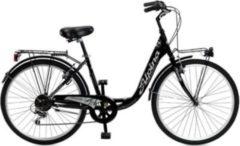 26 Zoll Damen City Fahrrad 6 Gang Alpina... schwarz