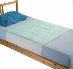 Groene SecoBed EasyLiving Set van 2 matrasbeschermers(wasbaar), met instopstroken, incontinentie matras, Set van 2 stuks! Ideaal voor zowel ouderen als kinderen, ook geschikt voor bevalling en zwangerschap!