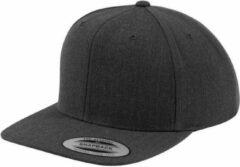 Grijze Yupoong Classic Unicolor Snapback Cap