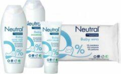 Neutral Baby - Combi Set- Shampoo / Wasgel / Bodycreme / Babydoekjes