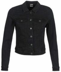 Zwarte Vero Moda VMHOT SOYA LS DENIM JACKET MIX GA NOOS - Black - Vrouwen - Maat XS
