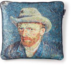 Blauwe Beddinghouse x Van Gogh museum sierkussen Van Gogh (45x45 cm)