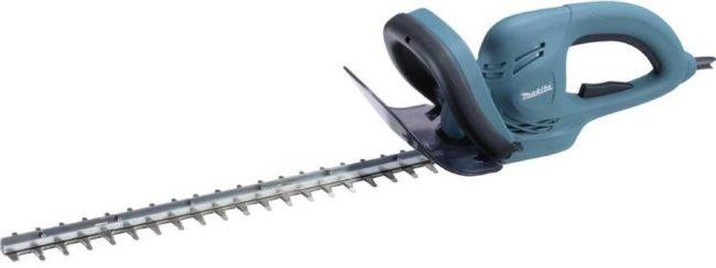 Afbeelding van Blauwe Makita UH4861 Elektrische Heggenschaar - 400 W - zwaardlengte 48 cm - mesafstand 19 mm