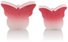 Flambiance LED-Schmetterlinge mit Farbverlauf, 2tlg.