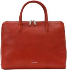 Oranje Gigi Fratelli Romance A4 laptop bag orange