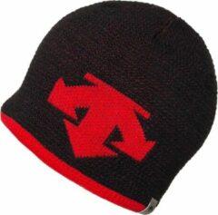 Descente Muts - Zwart/ Rood - One Size