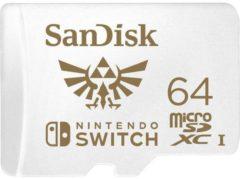 """SanDisk Extreme Nintendo Switchâ""""¢ microSDXC-kaart 64 GB UHS-I, UHS-Class 3 Geschikt voor Nintendo Switch"""