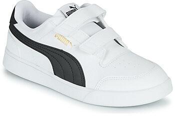 Afbeelding van Puma puma shuffle sneakers wit/zwart kinderen