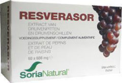 Soria Natural Soria Resverasor OPC's 600 mg 60 Tabletten