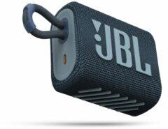 JBL Go 3 Blauw - Draadloze Bluetooth Mini Speaker
