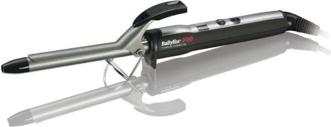 Afbeelding van Zwarte BaBylissPRO BaBylis Pro Digital Titanium Tourmaline Curling Iron - Krultang 16 mm