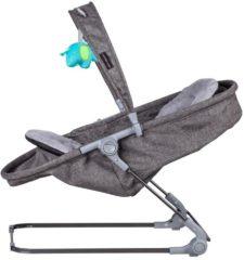 Zilveren Xadventure babysitter 2 in 1 luxe X Line Chardonnay/grijs