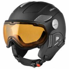 Slokker - Raider Pro - Skihelm maat 60-62 cm, zwart/bruin/grijs