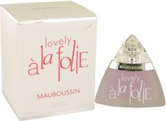 Mauboussin Lovely A La Folie 50 ml - Eau De Parfum Spray Damesparfum