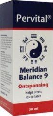 Pervital Meridian balance 9 ontspanning 30 Milliliter