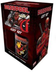 Cadeauset - Marvel: Deadpool - mok, onderzetter en sleutelhanger