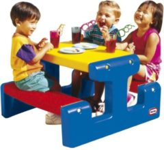Blauwe Little Tikes Primary Picknicktafel