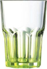Luminarc groen Tumbler groen 40 cl h: 12,1 cm D: 8,5 cm Glas (set van 12) En Yourkitchen E-kookboek - Heerlijke Smulrecepten