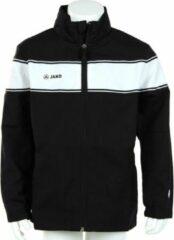 Zwarte Jako Woven Jacket Player Junior - Sportshirt - Kinderen - Maat 164 - Black;White