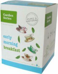 Zwarte Thee - Early Morning Breakfast - Garden Series Box (48 piramidebuiltjes)