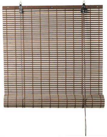 Afbeelding van Xenos Rolgordijn bamboe - bruin/naturel - 60x130 cm