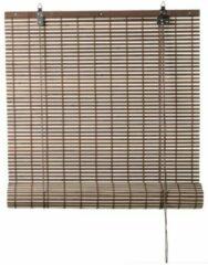 Xenos Rolgordijn bamboe - bruin/naturel - 60x130 cm
