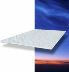 Witte TED MAH - Oplegmatras Topcover - 160x210x3 cm