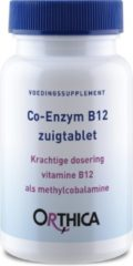 Orthica Co-Enzym B12 Zuigtablet - 60 Zuigtabletten