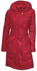 Rode Donzen mantel