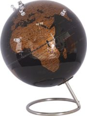 Beliani CARTIER - Globe - Zwart - Synthetisch materiaal