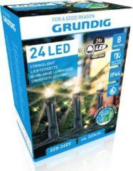 Witte Grundig - Kerstverlichting - 24 led - 223cm - 8 fucnties