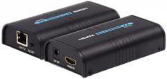 HDMI verlenger via UTP - tot 120 meter - Techtube Pro
