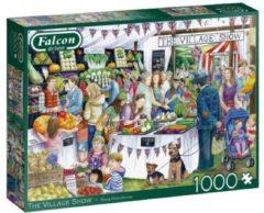 Falcon puzzel The Village Show 37 x 27 cm karton 1000 stukjes