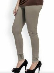 Kaki AWR Premium Dames Legging Katoen | Basic Legging | Khaki - XL