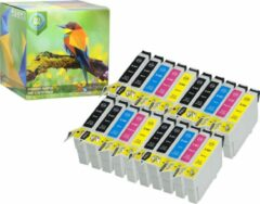 Cyane Ink Hero - 20 Pack - Inktcartridge / Alternatief voor de Epson T0445 T0441 T0442 T0443 T0444 Stylus C84 C84 Photo Edition C84N C84WN C86 C86 CX4600 CX6400 CX6600 44