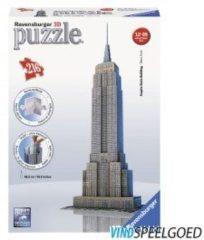 **Puzzel 3D Empire State Building 216 Stukjes Ravensburger 125531
