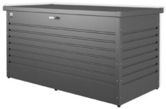Antraciet-grijze Biohort opbergkoffer 'Hobby 160' staal donkergrijs 160 x 83,5 cm