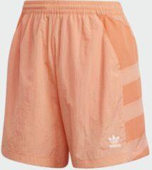 Koraalrode Adidas Large Logo Short