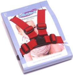Titanium Baby Babsana Veiligheidstuigje Met Looplijn - Rood