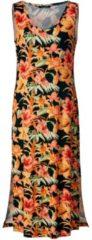 Jersey-Maxikleid mit Blumen-Print Sara Lindholm Orange