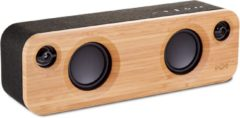 Zwarte House of Marley Get Together mini - Draadloze bluetooth speaker - Signature Black