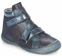 Blauwe Hoge Sneakers Citrouille et Compagnie HISSOU