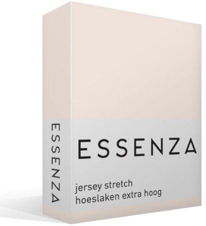 Afbeelding van Roze Essenza Premium - Jersey - Hoeslaken - Extra Hoog - Tweepersoons - 140/160x200/220 cm - Rose