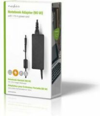 Nedis Notebook Adapter 90 W | 7.4 x 5.0 mm centre pin | 18.5 V / 4.9 A | Used for HP | Power Cord Included